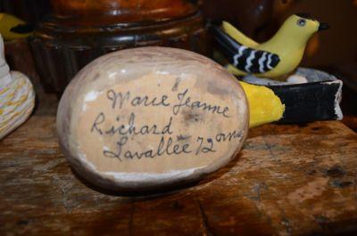 Art populaire Marie Jeanne Richard Lavallée  2