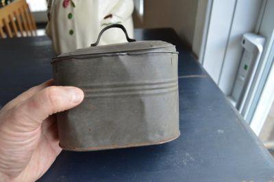 Boiler miniature tin  7