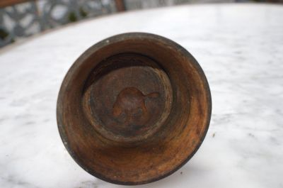 Moule à beurre avec castor sculpté 6