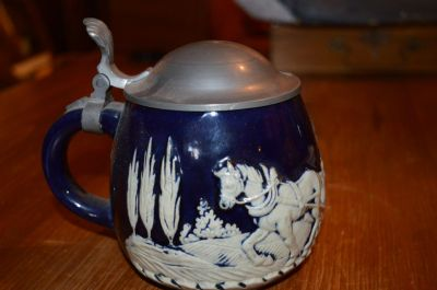 Wedgewood mug with pewter lid 7