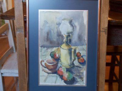 O. Gauroy aquarelle grand format 2
