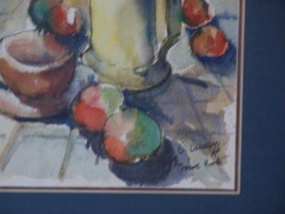 O. Gauroy aquarelle grand format 5