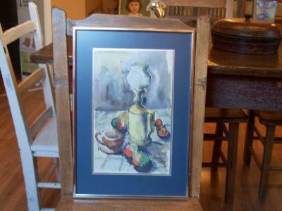 O. Gauroy aquarelle grand format 6