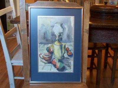 O. Gauroy aquarelle grand format 1