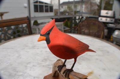 cardinal sculpté 2
