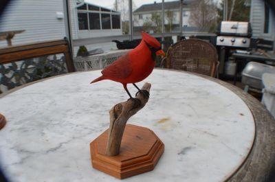 cardinal sculpté 3