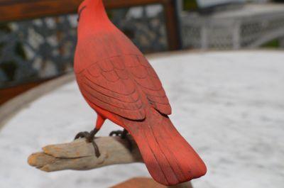 cardinal sculpté 5