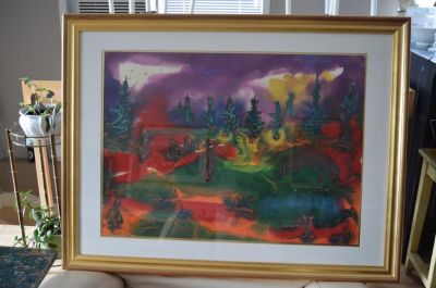 Paul Vanier Beaulieu large painting 2