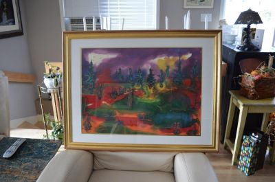 Paul Vanier Beaulieu large painting 1