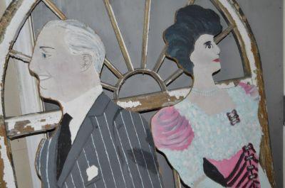 Personnages peints pour pièces de théâtres 2