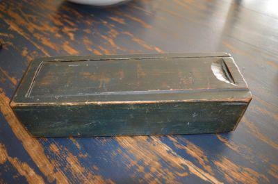 Boîte à chandelles en pin 1