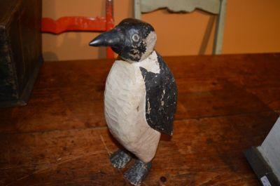 pingouin sculpté 1