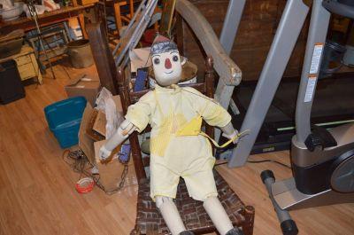Marionnette de Pinocchio en pin  10