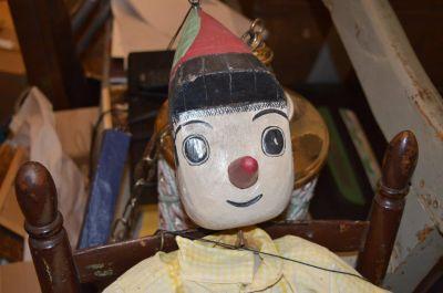 Marionnette de Pinocchio en pin  1