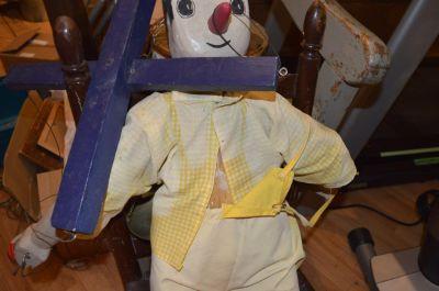 Marionnette de Pinocchio en pin  5