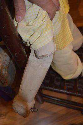 Marionnette de Pinocchio en pin  8