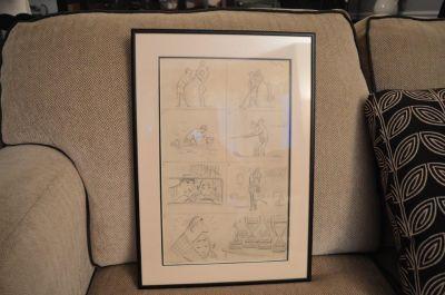 Planche de caricatures d'Albert Chartier 5