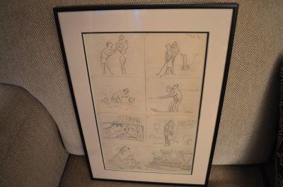 Planche de caricatures d'Albert Chartier 4
