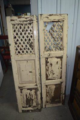 Paire de portes d'armoire à tartes 11