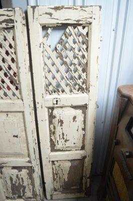 Paire de portes d'armoire à tartes 9