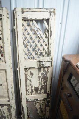 Paire de portes d'armoire à tartes 8