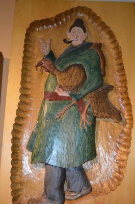 Marcel Racette bas relief 1