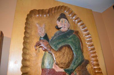 Bas relief polychrome de Marcel Racette 8