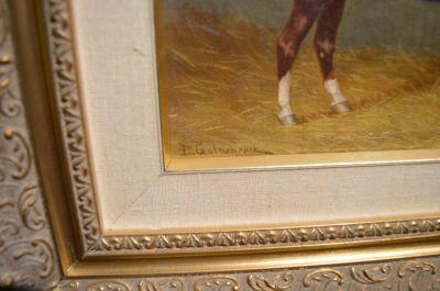 Huile sur toile Leopold Galarneau 2