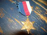 Étoile d'Italie médaille 2e guerre