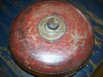 Wooden polychromic Native bowl - Antiques