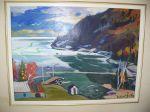 Huile sur toile de Gilbert Breton  - Antiquités