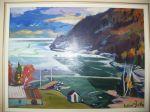Gilbert Breton oil on canvas.5