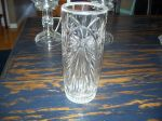 Antiquité Vase a fleurs en cristal, Antiquités