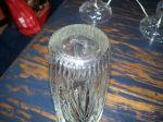 Vase a fleurs en cristal - Antiquités