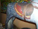 Cheval berçant magnifique - Antiquités