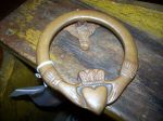 Bronze door knocker - Antiques