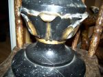 Pine candlestick - Antiques