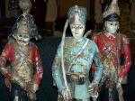 Paire de sculptures de soldats extraordinaires10