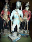 Paire de sculptures de soldats extraordinaires11