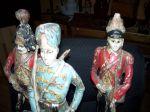 Paire de sculptures de soldats extraordinaires13