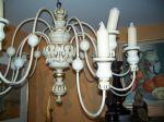 Pine candelabra 19th c. - Antiques