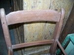 Baby high chair - Antiques