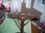 Forged steel cross - Antiques