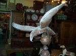 Copper eagle weather vane - Antiques