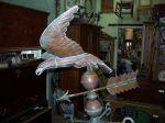 Antiquit� Girouette en cuivre, Antiquit�s