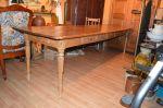 Antiquité Table réfectoire de 9 pieds, Antiquités