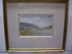 Tableau aquarelle de Jean Guy Meunier - Antiquits