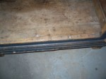 Bonnet chest gongs hinges small size raised panels - Antiques
