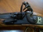 Left handed black powder gun - Antiques