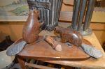 Castors sculptés 6